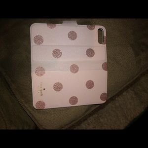 Kate Spade folio phone case